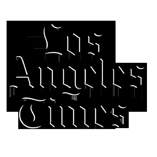 Los Angeles Times black logo